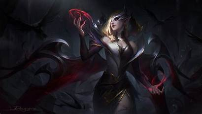 Morgana Lol Coven 4k League Legends Games