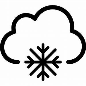 Snow weather symbol - Free weather icons