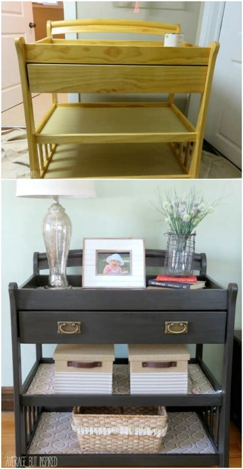 creative diy ideas   repurpose  changing table