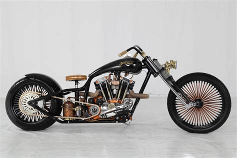 Hoosier Daddy Choppers Jack Daniel's Custom Harley