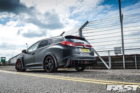 synchro motorsport honda civic type  tourer fast car