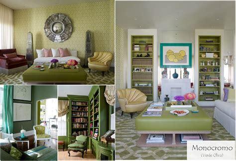 cojines para sofa verde oliva color del mes verde oliva casas que inspiran