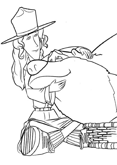 open season coloring pages    print