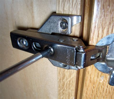 adjust euro style cabinet hinges  steps wikihow