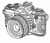Camera Coloring Pages Printable Save Credit sketch template