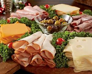 Food-Celebrations - Deli platters and hot appetizers