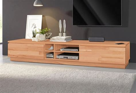 tv lowboard 200 cm lowboard breite 200 cm fsc 174 zertifiziertes massivholz
