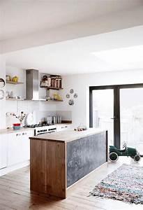 Tableau Craie Cuisine : elegant ilot de cuisine peinture tableau noir with tableau craie cuisine ~ Teatrodelosmanantiales.com Idées de Décoration