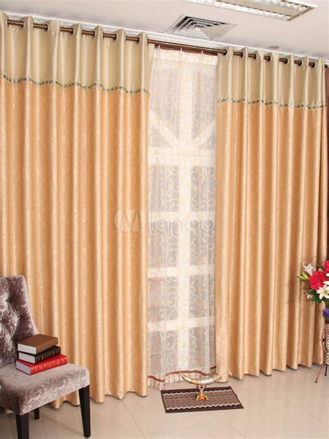 multi color two tone polyester popular blackout curtains