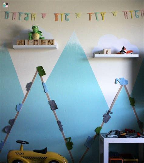 Kinderzimmer Junge Diy by Skandinavisches Kinderzimmer Diy Deko F 252 R Berge Motiv
