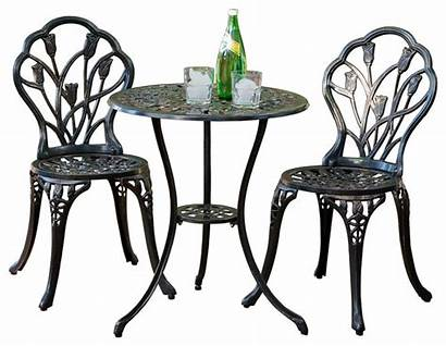 Bistro Outdoor Furniture Aluminum Patio Table Cast