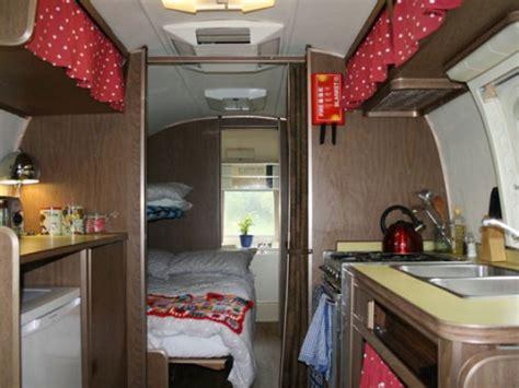 bedroom rural airstream caravans  england suffolk saxmundham