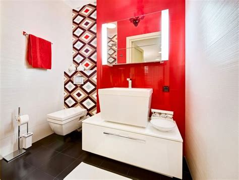 Charming And Colorful Bathroom Designs
