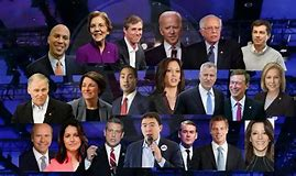 These are the democratic opponents that Tulsi Gabburd might face in primary debates............