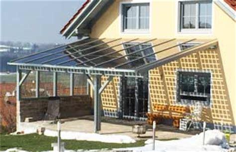 terrassen 252 berdachung mit glasdach selber bauen verglasungsprofile