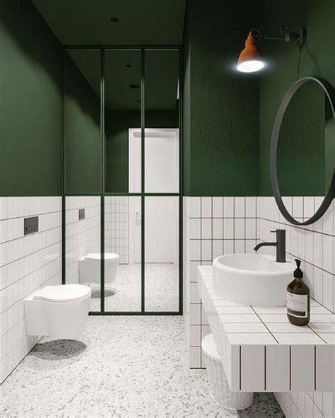 pretty  gorgeous modern green bathrooms decohoms