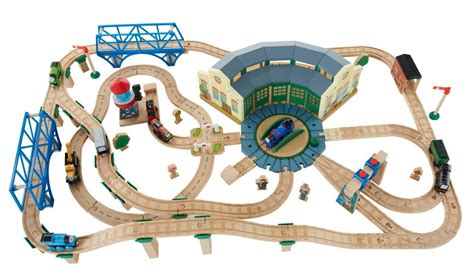 amazon com fisher price thomas the train wooden railway
