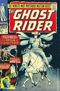 ghost rider 1967 marvel western comic books 1960 1969