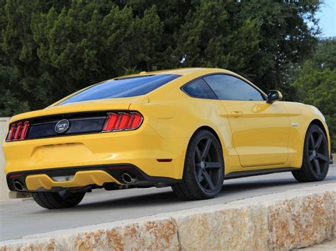 mustang gt triple yellow project car lmrcom