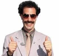 Image - Borat-thumbs-up-very-nice-210x197.jpg | R2DA Wikia ...