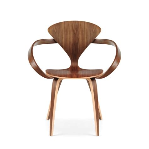 vintage walnut chair by norman cherner for norman cherner cherner chair cherner plycraft norman