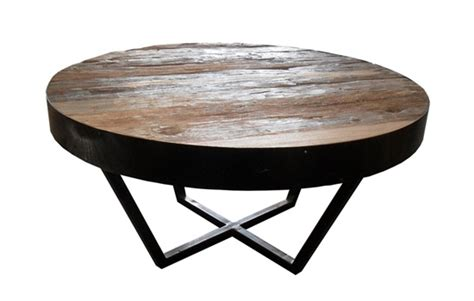 Furniture showing off the beauty of the wood grain has a certain appeal and this chunky. The Best DIY Small Round Coffee Table Rustic