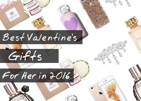27 Best Valentines Day Gifts For Wife (her) 2016