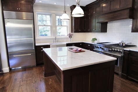 ivory kitchen faucet espresso cabinets traditional kitchen bradford designs