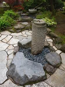 Portland Japanese Garden Fountain