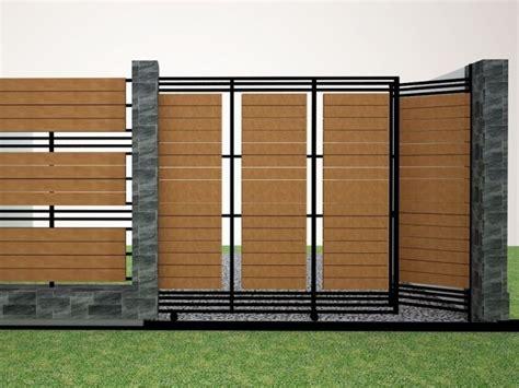 inspiring modern fence design  minimalist house   fence pinterest modern fence