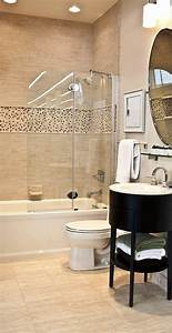 Meuble Salle De Bain Moderne : le carrelage beige pour salle de bain 54 photos de ~ Nature-et-papiers.com Idées de Décoration