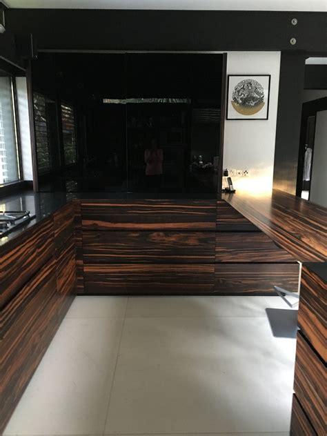 gandhara kitchen  macassar ebony installed   huf haus
