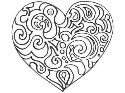 Herz ausmalbilder für erwachsene kostenlos zum ausdrucken. Ausmalbild HERZ - TakaTomo.de