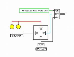 Review My Homework- Back Up Light Diagram