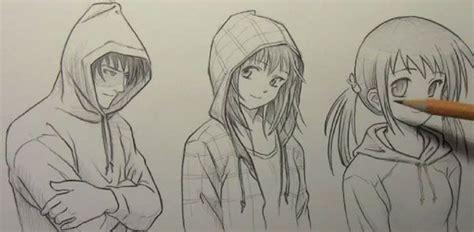 guy  hoodie drawing google search   anime