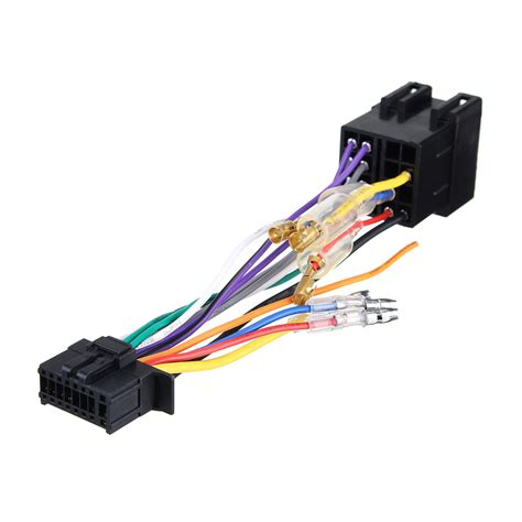 Pioneer Car Radio Wiring by 16pin Car Stereo Radio Wiring Harness Connector Iso