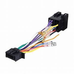 16pin Car Stereo Radio Wiring Harness Connector Plug Iso