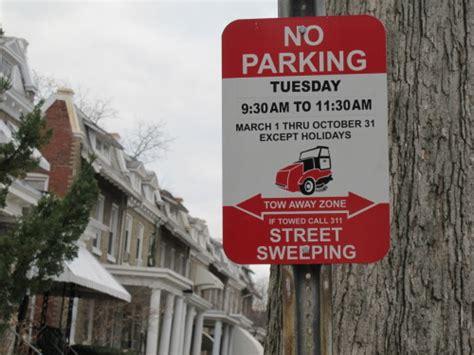 stop street sweeping ward