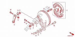 Rear Brake Panel For Honda Wave Dash 110  Single Front