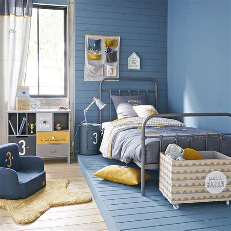 Chambre Garcon Bleu Et Une Chambre Pour Gar 231 On En Bleu Et Jaune Joli Place