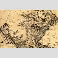 Mapofthenewworldinthe1600sjpg (1301×857)  Maps  Pinterest Interiors