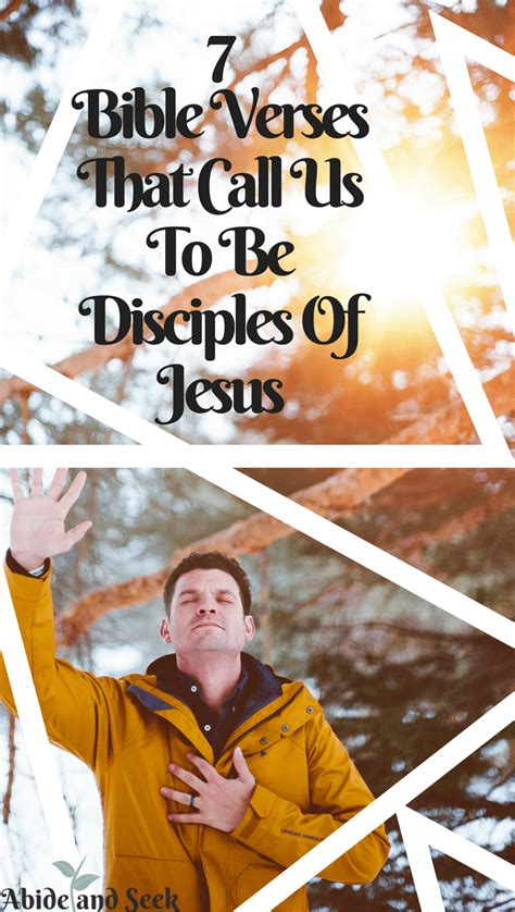 Jesus calls his first disciples 5 one day as jesus was standing by the lake of gennesaret, a the people were crowding around him and listening to the word of god. 7 Verses That Call Us To Be Disciples Of Jesus - Abide and Seek