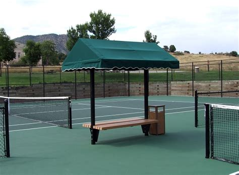 Cabanas And Awnings For Tennis Courts