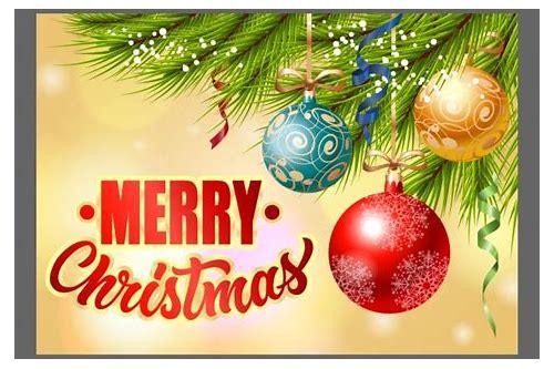 baixar design de cartão de natal gratis