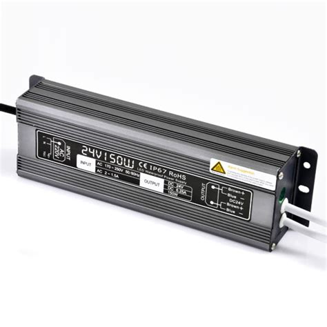 150w6 25a dc24v constant voltage outdoor waterproof ip67