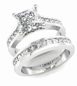 32CT PRINCESS CUT CHANNEL SET ENGAGEMENT RING WEDDING