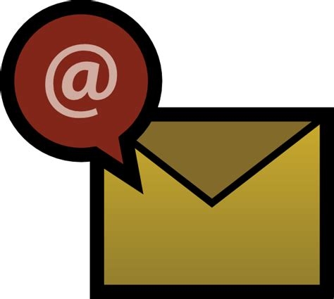 email clipart email clip at clker vector clip