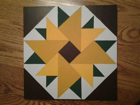 Free Barn Quilt Patterns by 6 Sunflower Quilt Block Ideas Barn Quilt Patterns