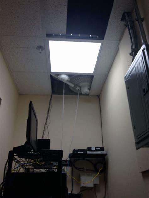 a colder server room
