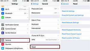 Iphone 8 Factory Reset To Erase All Content